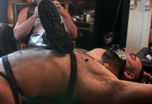 Leather Master Kristofer Weston Uses Dolan Wolf As An Ashtray 1