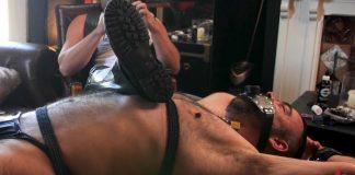 Leather Master Kristofer Weston Uses Dolan Wolf As An Ashtray 1