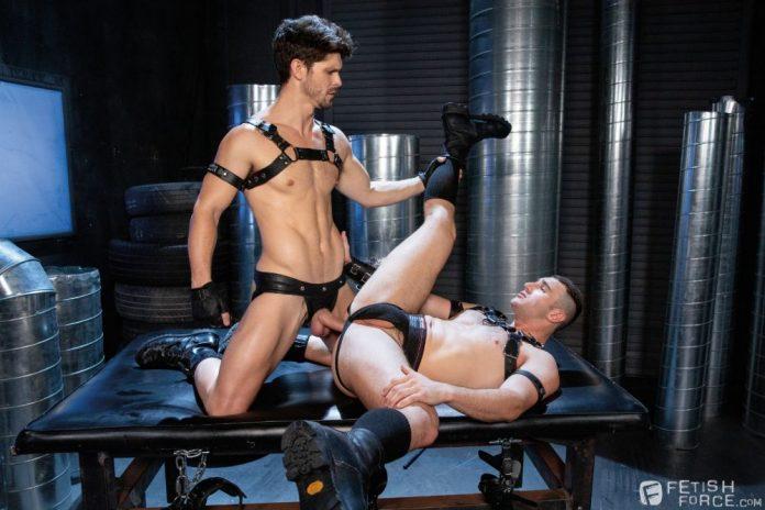 Leather Sex: Devin Franco & Michael Boston 1