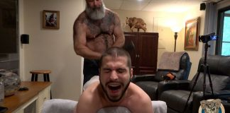 Muscle Bear Porn: Will Angell & Spencer Klein 1