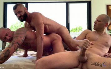 The BigC Men: Michael Roman, Jake Morgan & Big C 1