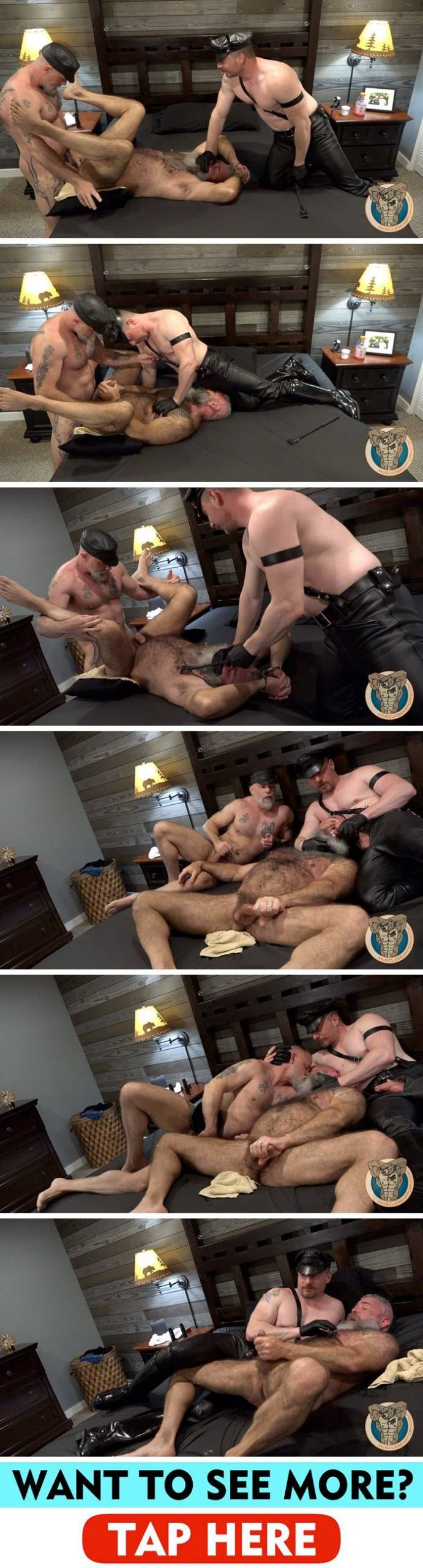 MuscleBearPorn: Jack Reed, Will Angell & Liam Angell