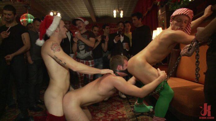 Brian Bonds: GangBang Christmas Party 1