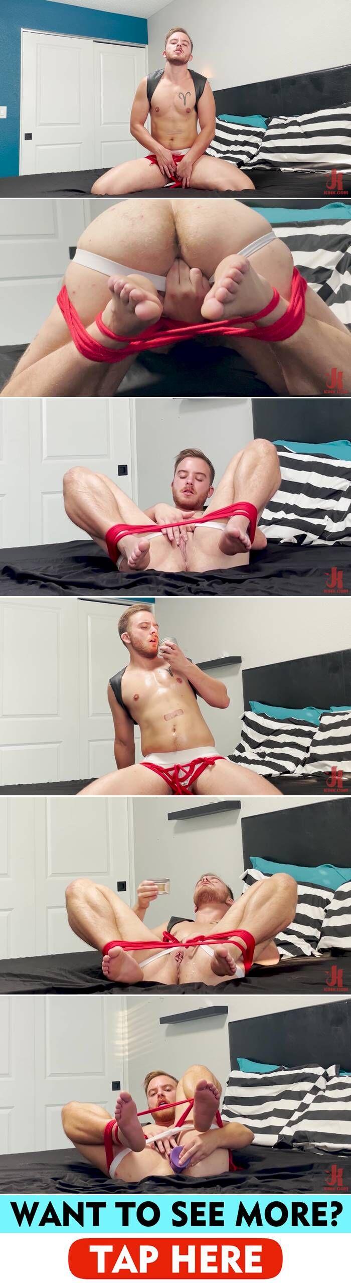 Kinkmen: Luke Hudson - BDSM Solo 1