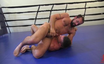 DJ & Lance Hart - Gay Wrestling For Kinkmen 1