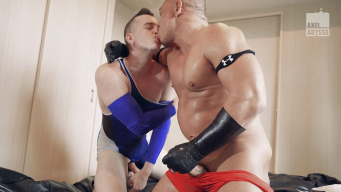 Syusaku & Axel Abysse - Wrestlers: Gay Fisting 1