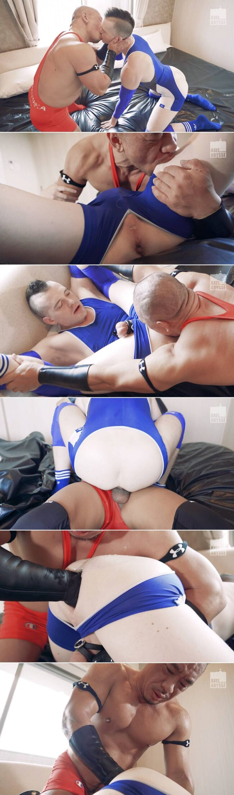 Syusaku & Axel Abysse - Wrestlers: Gay Fisting