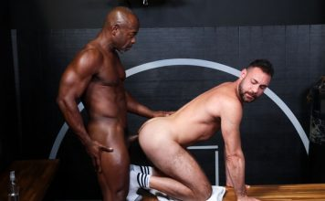 Aaron Trainer Has A Big Cock And Blake Houston Wants It 1