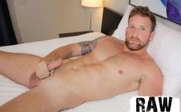 Big-Dicked Muscle Man Logan Carter Jerks Off 2