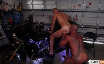 Chandler Scott & Jack Dyer Do It On The Motorcycle 1