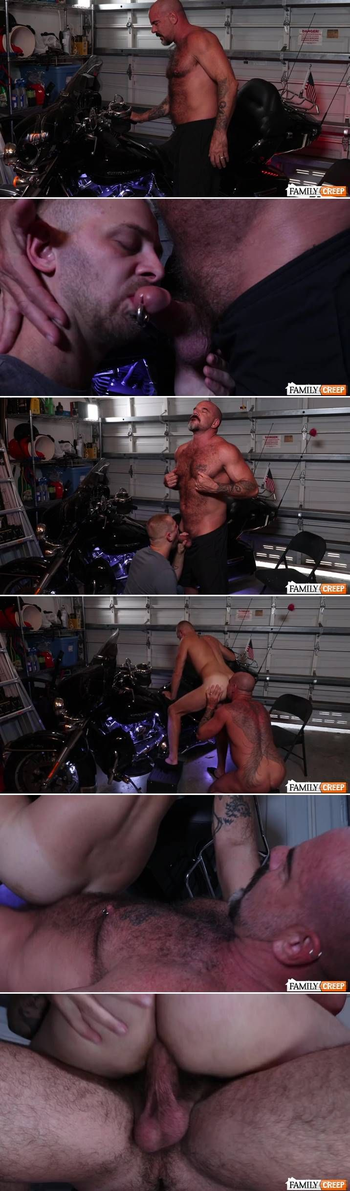 Chandler Scott & Jack Dyer Do It On The Motorcycle
