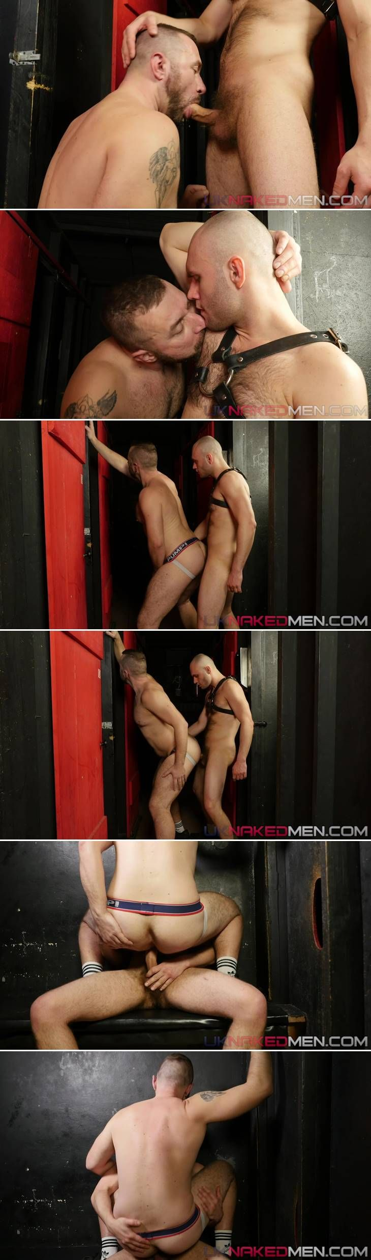 Donnie Marco & Adam Stahl - UK Naked Men