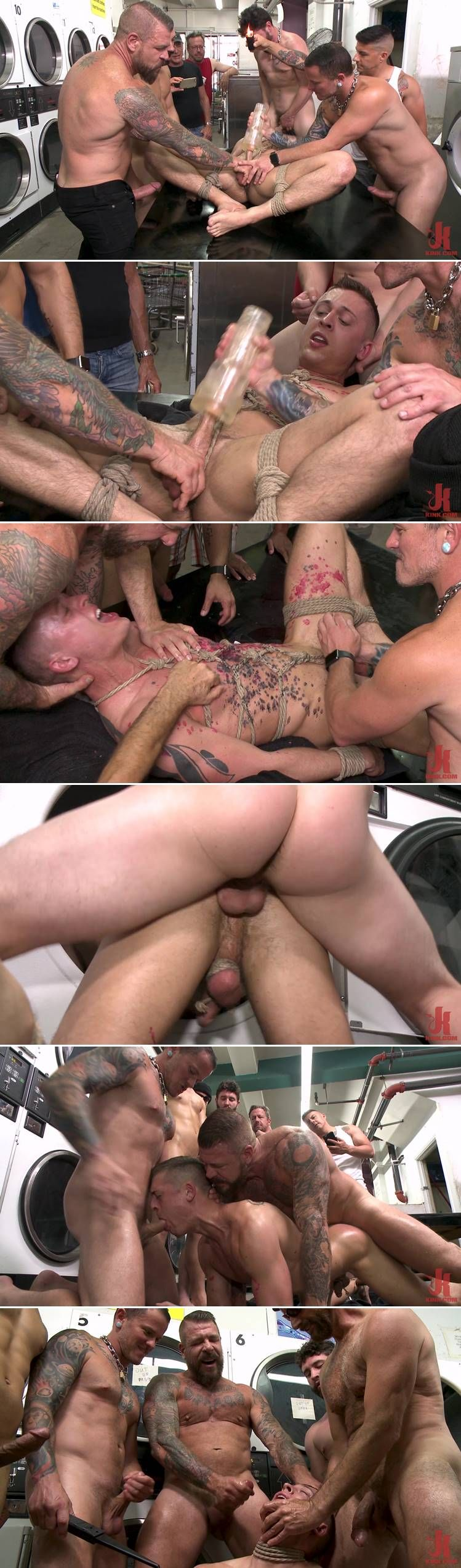 Kinkmen: Tyler Rush, Rocco Steele & Ruckus