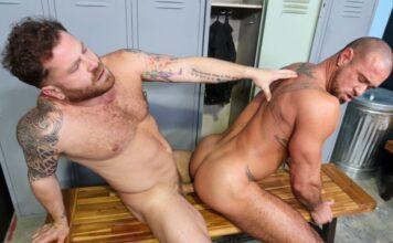 Michael Roman & Riley Mitchel Do It In The Locker Room 1