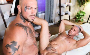 Deep & Hard Massage: Sean Duran & Armando De Armas 1