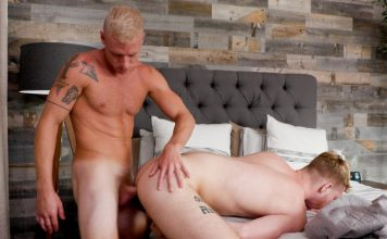 Dacotah Red Shares The Bed With His Stepbrother Justin Matthews 1