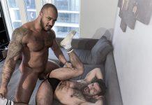 Mateo Zagal Worships Jason Vario's Feet & Cock 1