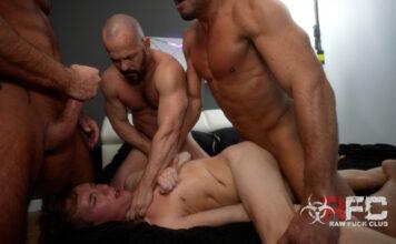 Jack Bailey Used By 4 Porn Legends - Raw Fuck Club 1