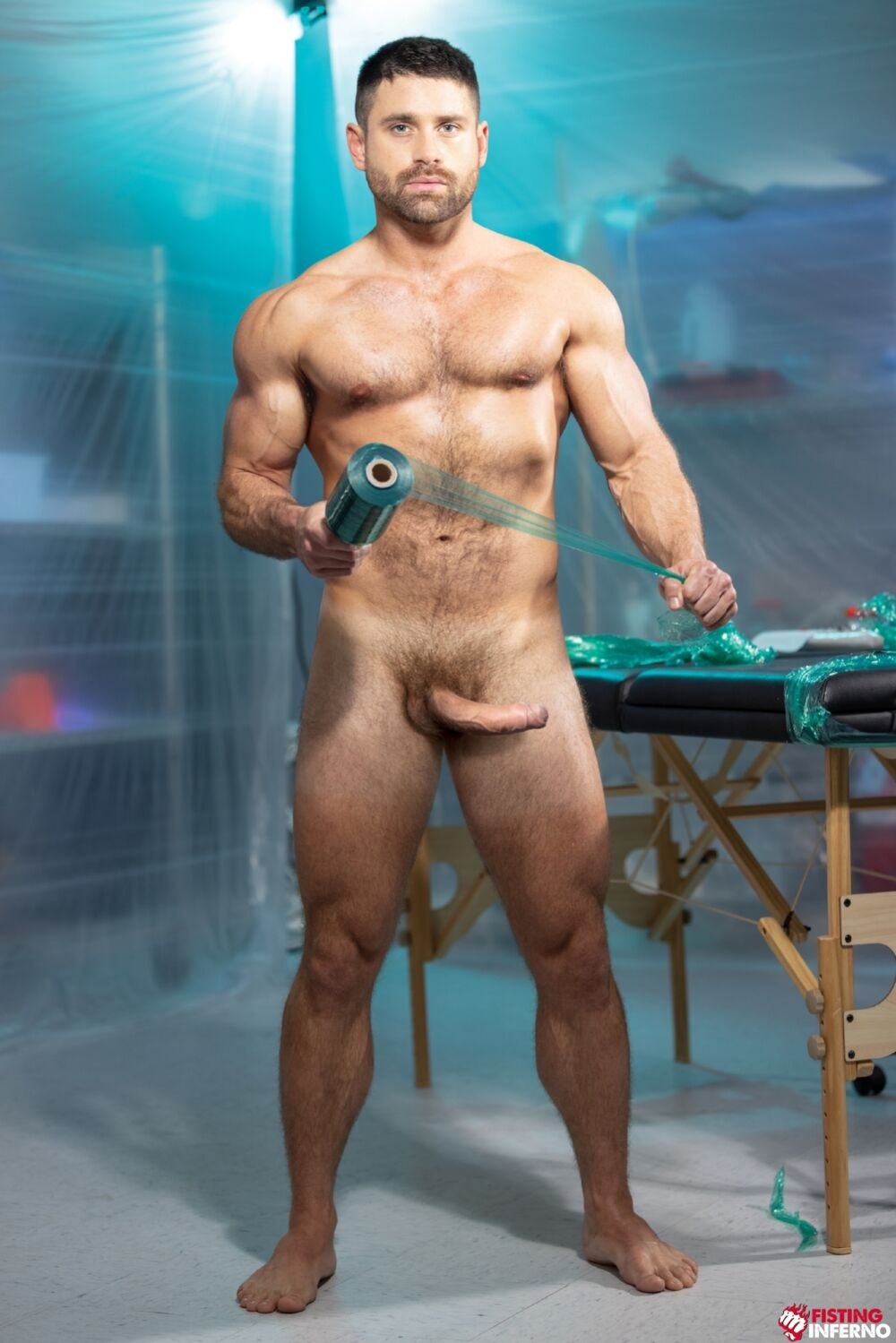 Beau Butler & Alpha Wolfe - Wrapped: Gay BDSM 2