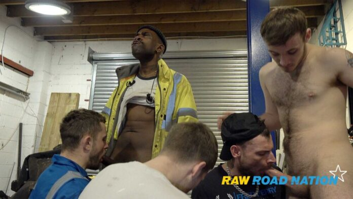 Raw Road Nation - Five Men Orgy 1