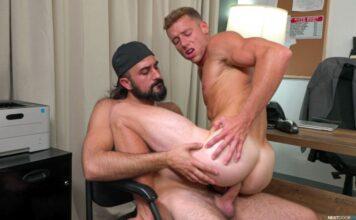 Hairy Mason Lear Plows Hard Justin Matthews 1