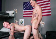 Soldiers Ryan Jordan & Damien White Have Raw Sex 1