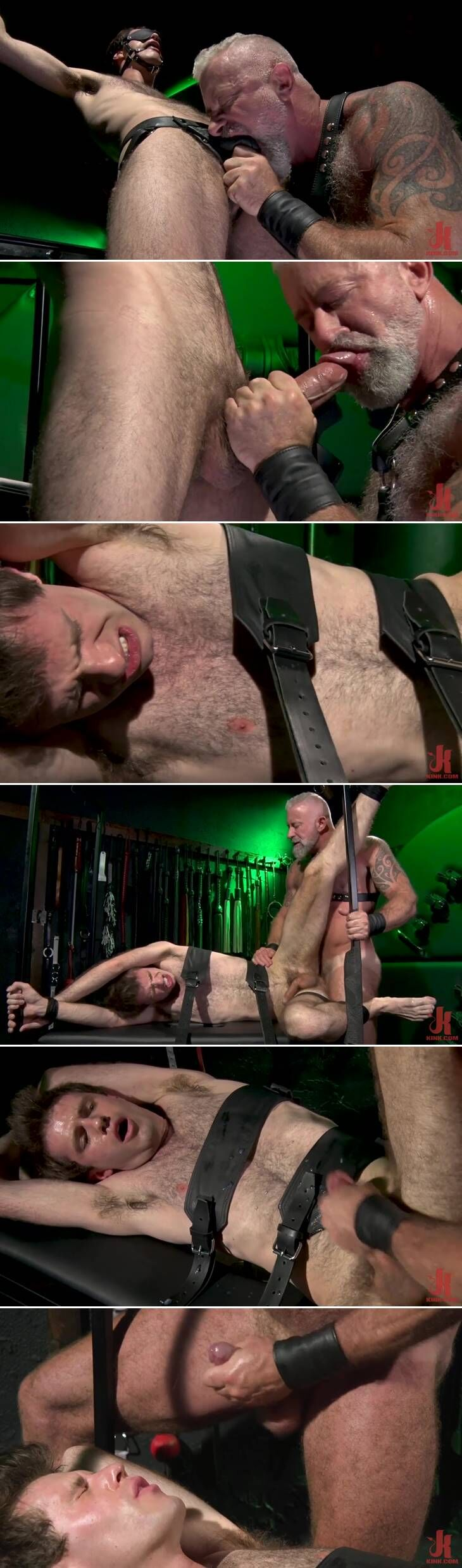 Leather Daddy Lance Charger Charges Maxx Monroe